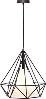 Lámpara Iluminación colgante moderna jaula vintage candelabro Rosca E27 para el Restaurante Dormitorio Sala de Estudio Loft Pasillo