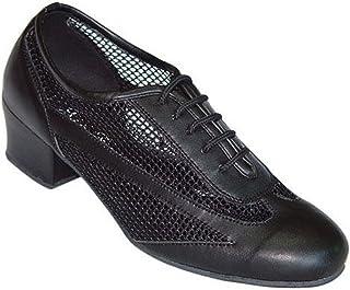 Ladies Black Leather /& Mesh Dance Shoes//Sandals for Line Jive 167003 Ballroom Latin Salsa /& Tango UK 3-8