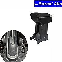 SZSS-CAR Leather Car Center Console Armrest Box for Suzuki Alto 2008 2009 2010 2011 2012 2013 2014 2015 2016 2017 Armrests Storage Box