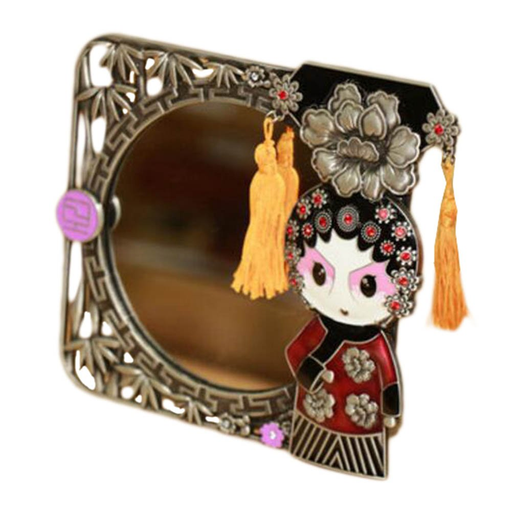 Popular standard Chinese Style Beijing Opera Make Mirror Up Cosmetic Creative Orn 40% OFF Cheap Sale