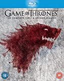Game Of Thrones - Complete Seasons 1 & 2 (10 Blu-Ray) [Edizione: Regno Unito] [Reino Unido] [Blu-ray]