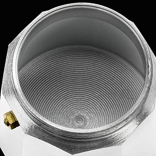 Monix M281706 - Cafetière Italienne en Aluminium, 6 Tasses, Couleur Fraise