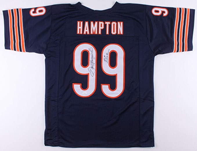 Dan Hampton Autographed Jersey (Bears) - JSA COA! at Amazon's ...