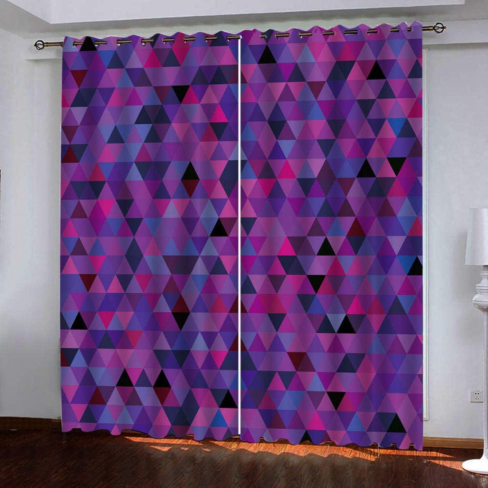Blackout Window Curtain Panels Diamond All items in the store Pattern Tulsa Mall for Thermal Insu