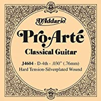 CUERDA SUELTA GUITARRA CLASICA - Dエaddario (J/4604) Pro/Arte Fuerte (Minimo 5 Cuerdas) 4ェ