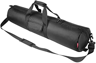 Sponsored Ad - Hemmotop Tripod Carrying Case Bag 31x7x7in/80x18x18cm Heavy Duty with Storage Bag and Shoulder Strap Padded...