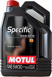 Motul Specifieke SAE 5W30, 50400/50700, ACEA C3, 5 liter