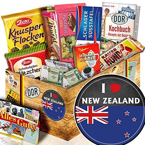 I love New Zealand - Neuseeland Geschenk - Schokolade Ostpaket