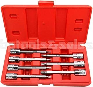 T50 SENRISE Torx Bit Socket 1//4 3//8 T20-T50 Nut Driver Bit Star Impact Drive Torx Sockets for Industrial Automotive Repair