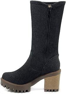 BalaMasa Womens ABS14167 Pu Boots