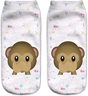 NANAYOUPIN, 5 Pares s Lindos Calcetines de bambú para niñas, niños, niños Oldman y niño, Calcetines Blancos, Calcetines para niñas, niños 2