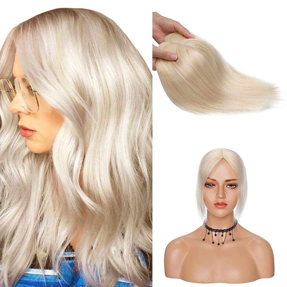 Ranking TOP16 Human Hair Toppers Clip On Toupee Topper Remy Spring new work Crown Hairpie