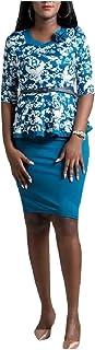 WE&energy 女性フォーマル2ピースビジネスワークOL塗装スカートスーツセット