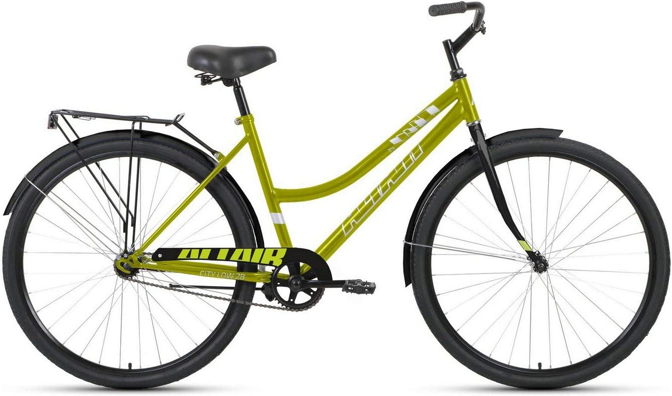 Bike ALTAIR City 28 Low 2021 Black Special price for a limited time 19 Colour Rapid rise Green Size