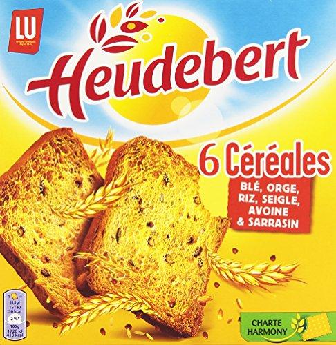 Heudebert Biscotte 6 Céréales Le Paquet 300 g