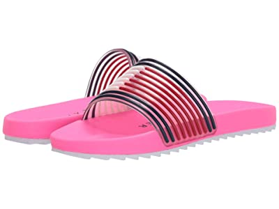 Tommy Hilfiger Kids Shylo II (Little Kid/Big Kid) (Neon Pink/Flag Molded) Girl