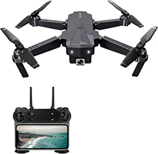 Leeofty SG107 Foldable ni Drone with Camera 4K Indoor RC Quadcopter APP Control Headless Mode 360° Rotation Trajectory Fli...
