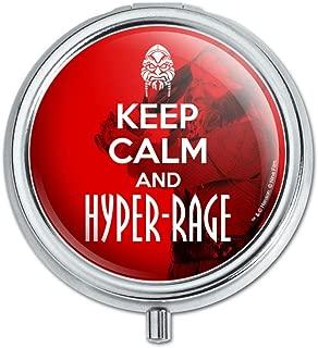 Farscape Keep Calm and Hyper-Rage Ka D'Argo Luxan Pill Case Trinket Gift Box