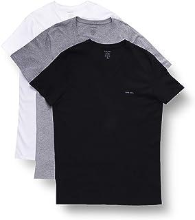 Diesel Men's Jake 3-Pack Essentials V-Neck T-Shirt