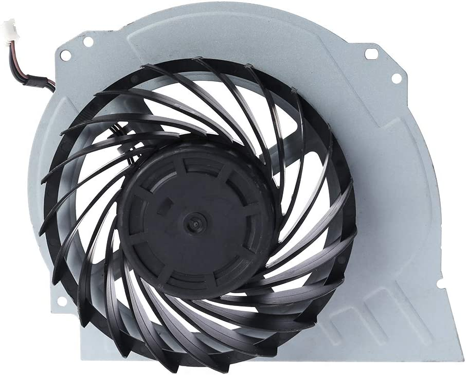 bfh Piezas de reparación del Ventilador de refrigeración Interno Duradero PS4 Pro 7000-7500 Ventilador Interno del refrigerador de computadora portátil para Ps4