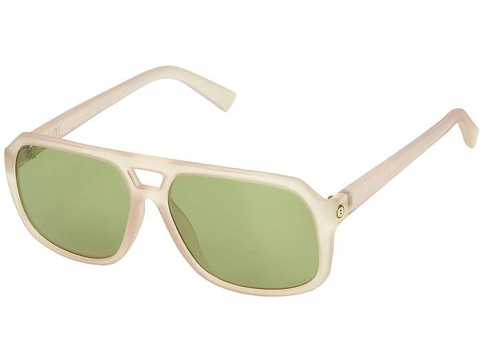 Dude (Matte Pink/OHM Vintage Green) Athletic Performance Sport Sunglasses