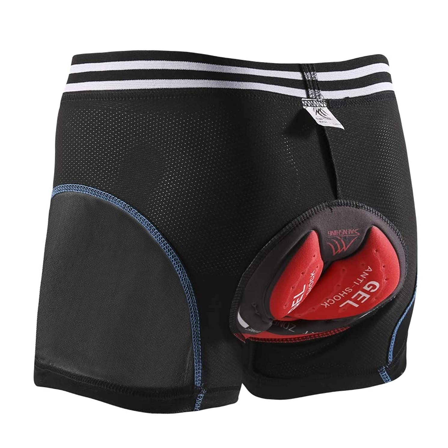 SAENSHING Men's Waterproof MTB Cycling Shorts Baggy Mountain Bike Shorts Loose-Fit Bicycle Biking Shorts Quick Dry