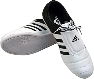 adidas KICK Shoes Martial Arts Sneaker White with Black Stripes (10)