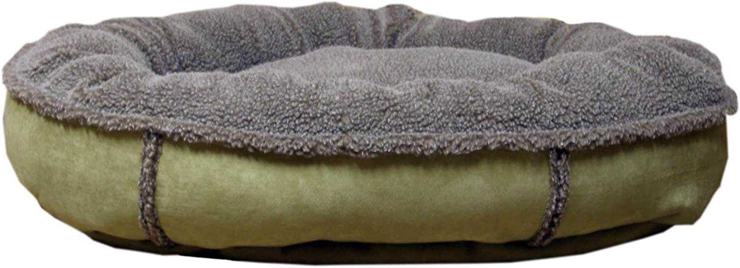 Cpc Faux Suede & Tipped Berber Round Comfy Cup