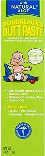 Boudreaux's Butt Paste Diaper Rash Ointment, With Natural Aloe, 4 Oz