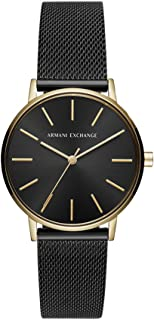 Armani Exchange Women's AX5548 Analog Quartz Black Watch