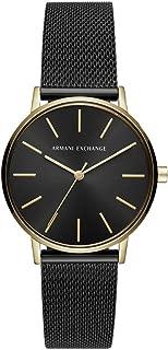 Armani Exchange Women's AX5548 Analog Quartz Black Watch