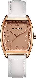 Nice Fashion Elegant Rose Gold Ladies Watch, Swiss Brand Leather Band Waterproof Rose Gold White/Beige/Black Dress Watch for Women on Sale