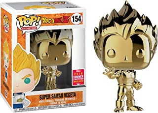 Funko POP! Dragon Ball Z, Gold Vegeta SDCC 2018 Shared Exclusive