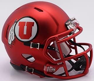 Riddell 8054134 NCAA Utah Utes Helmet Mini SpeedHelmet Replica Mini Speed Style Red 2017, Team Colors, One Size