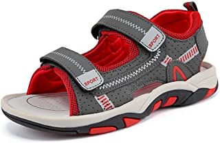 Bumud Boys' Sandal Summer Flat Shoes