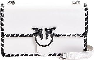 Pinko LOVE CLASSIC TWIST da donna bianco/nero,1P21MF-Y5GB
