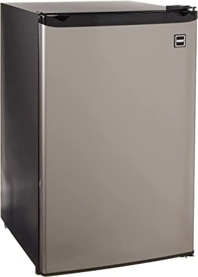 RCA RFR441 Fridge, 4.5 Cubic Feet, Stainless Steel