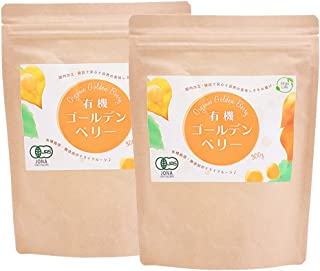 オーガライフ ゴールデンベリー オーガニック 300g x2袋 有機JAS 無添加 無農薬 砂糖不使用 ドライフルーツ