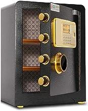 Security Safe Box, Digital Safes Locking Safe, High Security Safes Safety Steel Box Home Office Money Cash Safe with 3-Lay...