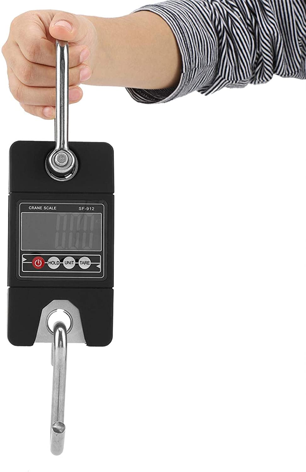 XQAQX Portable Electronic Scale 5 ☆ popular 150kg 100g Max 47% OFF Digital Hanging