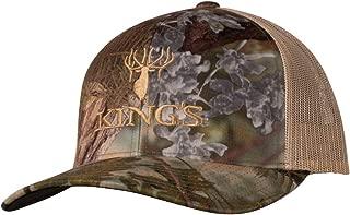King's Camo King's R-Flex Mesh Hat, Color: Mountain Shadow, Size: LXL (110-KCLOGO-MS-LXL)