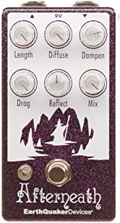 EarthQuaker Devices Afterneath V2 Reverberation Machine, Limited Edition Purple Sparkle