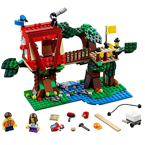 LEGO Creator 31053 Treehouse Adventures Building Kit (387 Piece) by LEGO