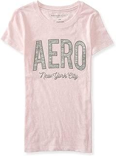 AEROPOSTALE Womens Logo New York Embellished T-Shirt