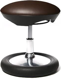 /Sedia da Ufficio//Sgabello Sitness 40/Hightech Tessuto Nero Cromo Topstar/