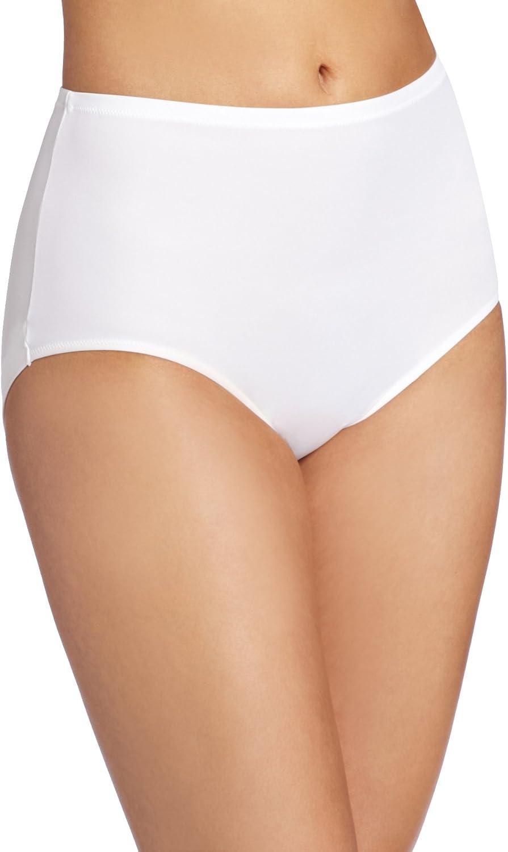 Warners Women's No Wedgies No Worries Modern Brief Panty