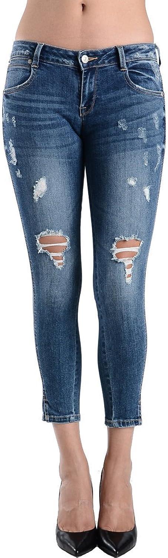 Just Usa Women's Low Rise Capri Length Jeans
