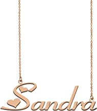 MoShelly Easter Day Name Necklace Gift for Her Best Friends Personalized