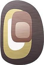 Office Chair pad for Carpet Low Pile Carpet Non Slip Chair Mat Silent Floor Protector Mat for Wooden Floors Ceramic Tile L...