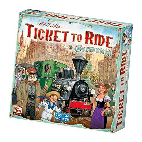 Asmodee Ticket To Ride: Germania, Gioco Base, Gioco da Tavolo, Ed. Italiana, 8511